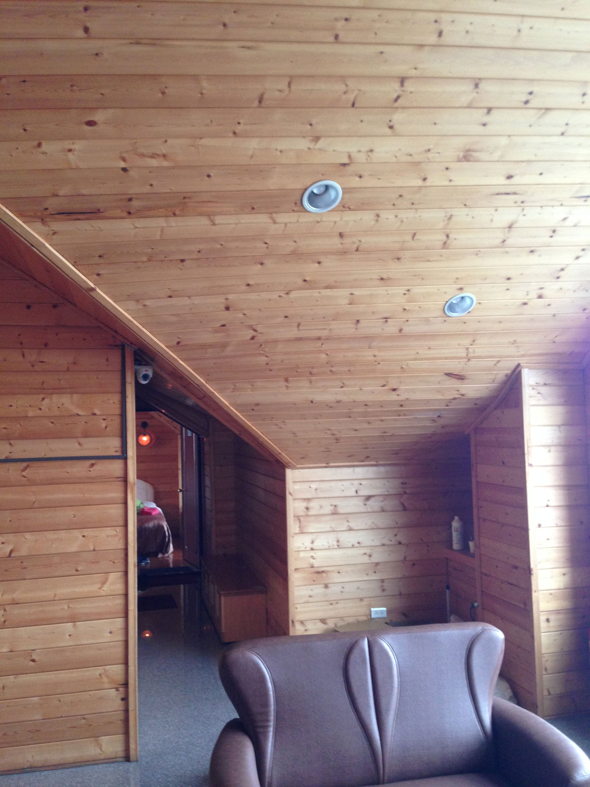 Timber Cladding Ceiling Ilivinghomes The Beauty Of